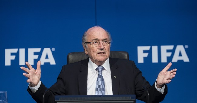 Blatter remains in hospital after stress-related 'breakdown'